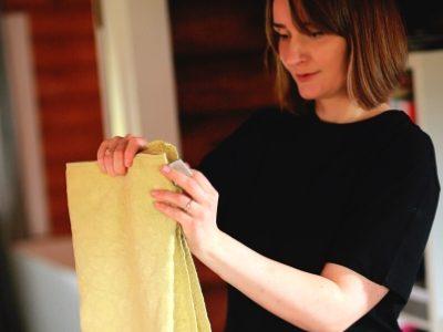 Patalynės užvalkalų ir rankšluosčių lankstymas